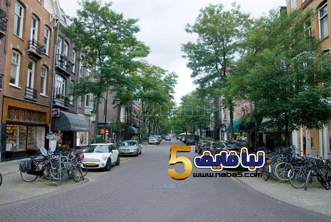07 cornelius sa111011 - وضع اضواء على الأرصفة في مدينة في هولندا