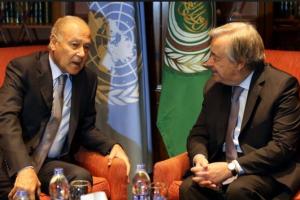 الجامعة العربية| حل الدولتين ضروي لإنهاء النزاع الفلسطيني الإسرائيلي