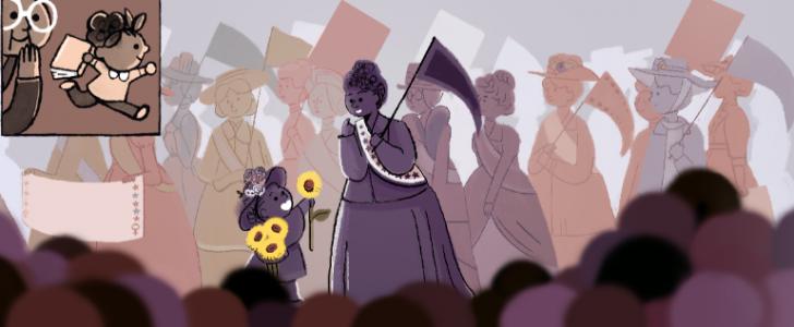 محرك بحث جوجل يحتفل في اليوم العالمي للمرأة