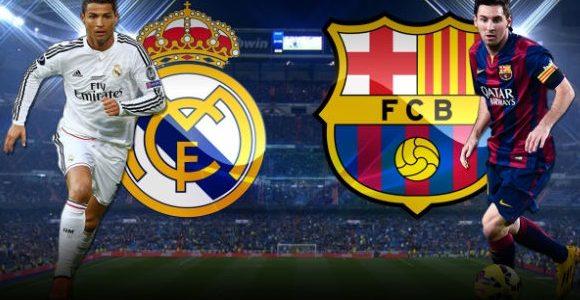 اللقاء الذي يجمع بين ريل مدريد وبرشلونة اليوم الأحد