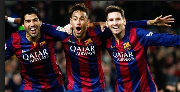 برشلونة الإسباني لدية هجمة كبيرة تظهر عادة على ملعب الكامب نو