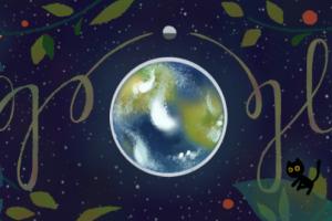 محرك بحث جوجل يحتفل بيوم الأرض