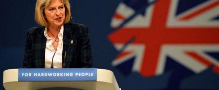 كلمة رئيسة وزراء بريطانيا تيريزا ماي