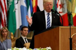 الرئيس الامريكي دونالد ترامب يدعو السعودية لمكافحة الإرهاب