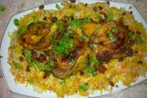 طريقة تجهيز واعداد دجاج وأرز مدخن بالمذاق الرائع