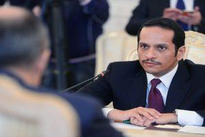 وزير الخارجية القطري روسيا وايران عرضت علينا المساعدات الغذائية وشدد ان قطر لا تحتاج للمساعدات