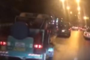 شاهد بالفيديو رجل أردني يصنع سيارته بيده ويتجول بها في عمّان
