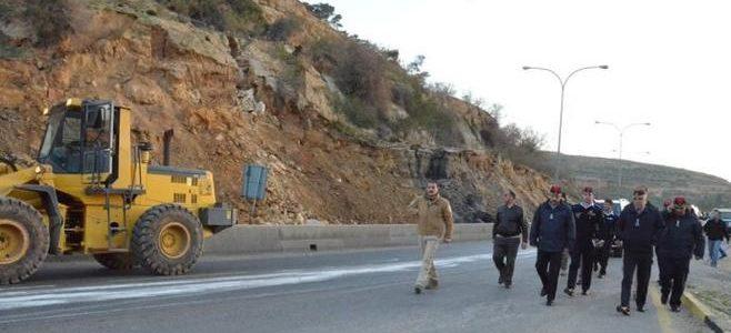 دهس رجل أمن على طريق اربد جرش