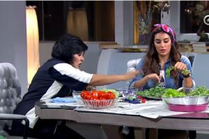 """بالفيديو ياسمين صبري: انا """"ست بيت شاطرة"""" متزوجة وبحب الشغل مع محمد رمضان"""