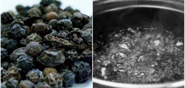 تناول ماء الفلفل الأسود الساخن لمدة 30 يوم لها فوائد جَمه تعرف عليها