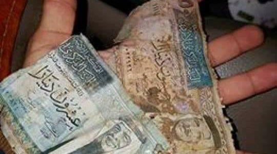 ردة فعل شاب في الزرقاء عند علمه بأمر الأموال المتناثرة في عراق الأمير !