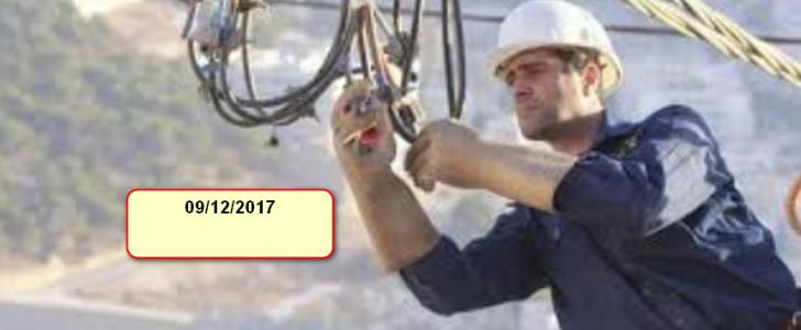شركة الكهرباء الاردنية تعلن عن فصل التيار الكهربائي عن بعض المناطق غدا