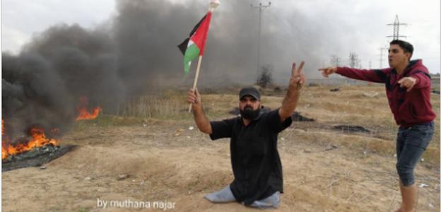 تفاصيل.. استشهاد مبتور القدمين إبراهيم أبو ثريا برصاص الاحتلال الاسرائيلي