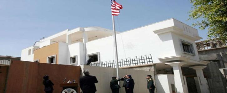 الأجهزة الأمنية الليبية تنفي تفجير السفارة الأمريكية في طرابلس في اعقاب قرار دونالد ترامب