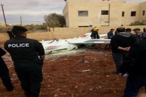 بالصور: طاقم طائرة سلاح الجو الملكي ينجو من الموت بأعجوبة