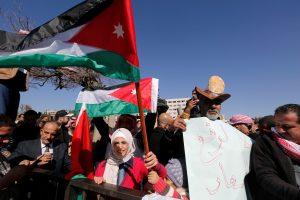 تواصل الاحتجاجات في الأردن اثر رفع الأسعار