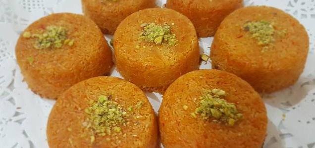 كب الكنافة على طريقة المطبخ العربي