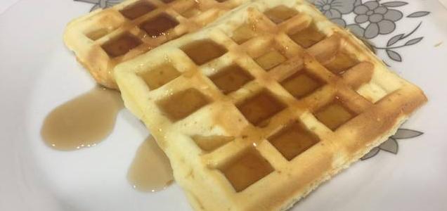 طريقة تحضير الوافل على طريقة المطبخ العربي