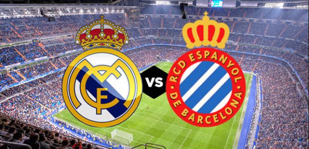 موعد مباراة ريال مدريد ضد إسبانيول والقنوات الناقلة