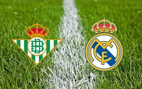 مشاهدة مباراة  ريال مدريد  وريال بيتيس – بث مباشر يوتيوب اون لاين