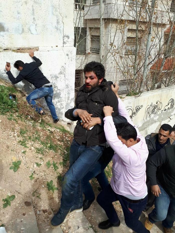 image - شاهد بالفيديو لحظة إلقاء القبض على منفذ عملية سطو البنك العربي في عمّان