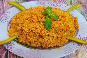 طريقة عمل برغل بندورة من المطبخ العربي