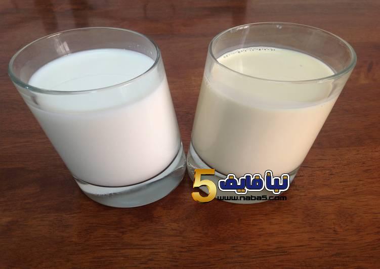 الفرق بين اللبن المكثف و اللبن المبخر؟ - الفرق بين الحليب المبخر والحليب المكثف