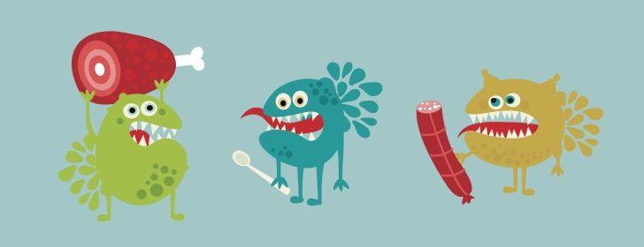 الوقاية من خطرالتسمم الغذائيفي المنزل