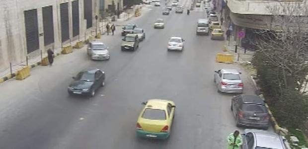 بالفيديو لحظة حدوث حادث مروع في عمّان