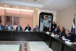 إجتماع للجنة توصيات حقوق الإنسان في الأمن العام