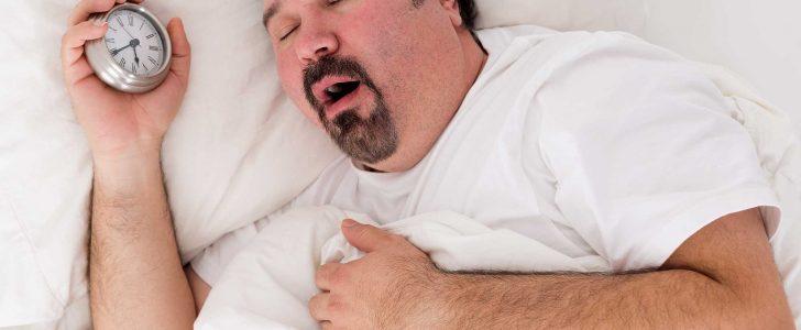فتح الفم أثناء النوم