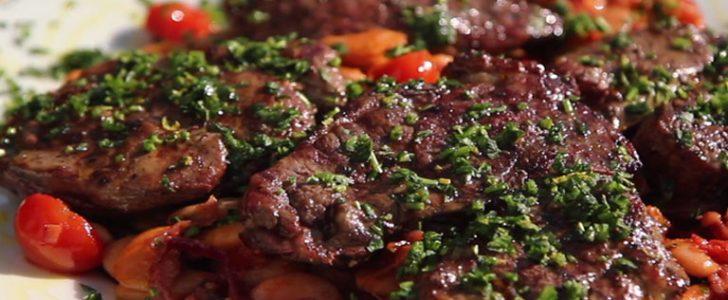 طريقة عمل ستيك اللحم مع الخضار