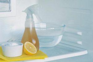 تنظيف الثلاجة و التخلص من روائحها الكريهة