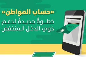 التسجيل مستمر في برنامج حساب المواطن