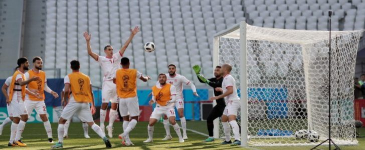 موعد مباراة تونس وإنجلترا اليوم الإثنين 18-6-2018 والقنوات الناقلة للمباراة