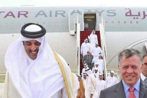 قطر تدعو الى دعم الاردن بعد استقالة الملقي