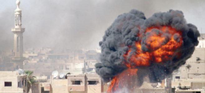 انفجار عنيف من الجانب السوري يهز الرمثا واربد
