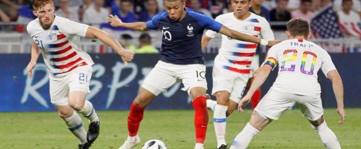 مباراة فرنسا واستراليا – كأس العالم 2018