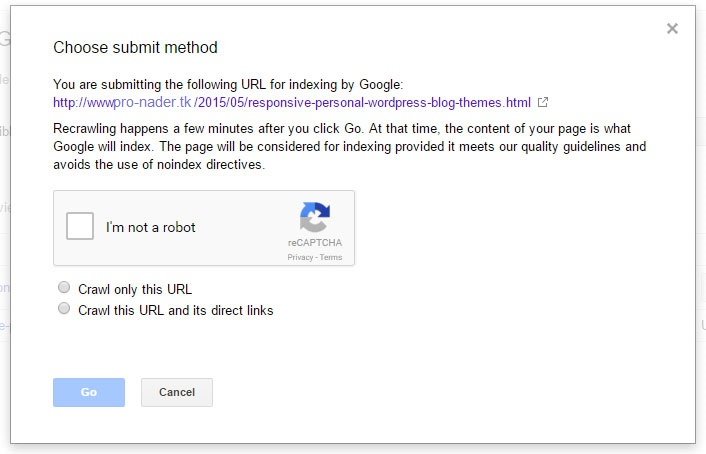 فهرسة المحتوى الخاص بك في جوجل بين 3 5 دقائق 1 - طريقة تسريع ارشفة مقالاتك في جوجل بين 3- 5 دقائق