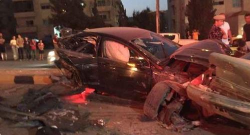 حادث مفجع تسبب بوفاة اربعيني واصابة زوجته