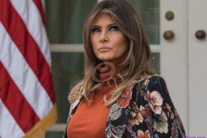 """ميلانا ترامب تخلت عن زوجها دونالد ترامب بسبب """" الشريط الفاضح"""""""