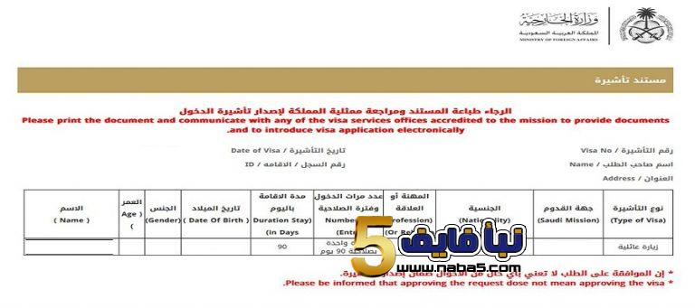 خطوات تقديم طلب تأشيرة زيارة عائلية للسعودية