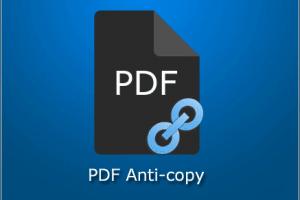 برنامج منع نسخ النصوص من ملفات PDF الخاصة بك
