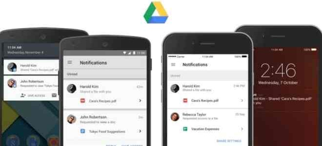 تحميل تطبيق Google Drive للاندرويد والايفون