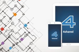 تحميل تطبيق 4Shared لمشاركة الملفات وتخزينها للاندرويد