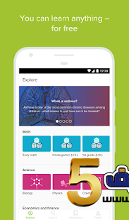 Khan Academyt - تحميل تطبيق Khan Academy تعلم عن بعد للاندرويد