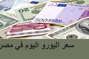 سعر اليورو اليوم الخميس 17/1/2019 في المصارف المصرية