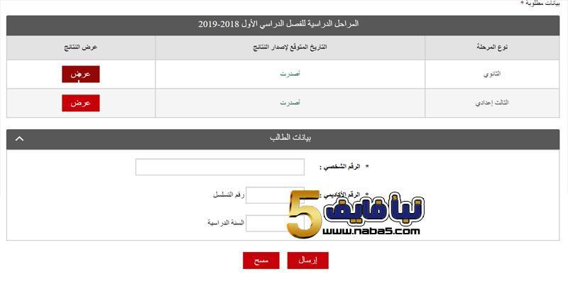 نتائج البحرين 2019