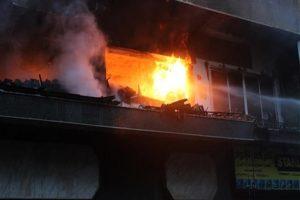 حريق في اربد نتجه عنه 5 وفيات واصابة 7 أشخاص